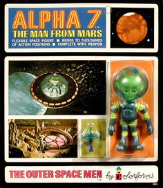 Mars - Outer Space Men, Mint, Series I