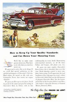 1952 Chevrolet cars