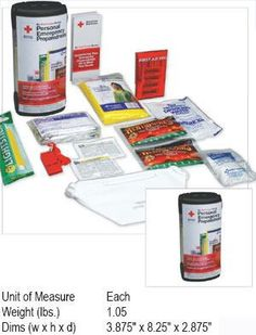 The American Red Cross Personal Emergency Preparedness Kit is a one-person pack containing basic supplies that could prove vital in an emergency. Basic supplies when the unexpected happens. Only $19.99 at www.thereadystation.com!