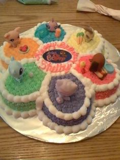 Shelby's cake-Littlest Pet Shop                                                                                                                                                                                 More
