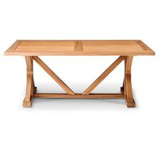 Morie Farmhouse Wood Dining Table - Threshold™