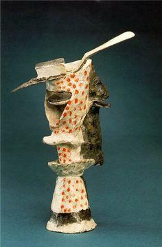 A Glass Of Absinthe Pablo Picasso Original Title: La verre d'absinthe Date: 1914 Style: Cubism Period: Cubist Period Genre: sculpture Dimensions: x cm Henri Rousseau, Henri Matisse, Art Picasso, Picasso Paintings, Oil Paintings, Georges Braque, Amedeo Modigliani, Piet Mondrian, Paul Gauguin