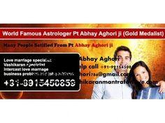 i Am Indian astrologer Abhay Sharma  Contact for any Help call +91-9915450859  email: abhayaghori786@gmail.com website: http://www.vashikaranmantraforlove.com