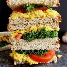 Looking for an easy vegan sandwich recipe? Try this turmeric chickpea salad - healthy, simple to make, and bursting with delicious flavors.