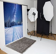 White Snow Forest and Blue Star Sky Christmas Photography Backdrops no Crease Photo Studio Backgrounds Christmas Backdrops, Christmas Photos, Snow Forest, Christmas Photography, Star Sky, Christmas Background, Photography Backdrops, Photo Studio, Backgrounds