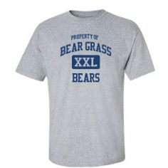 Bear Grass Junior Senior High School - Williamston, NC | Men's T-Shirts Start at $21.97