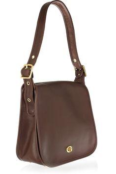 Coach Classics - Stewardess leather shoulder bag 1f55995b2c005