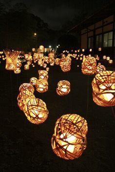bamboo light  #beppu #oita #japan