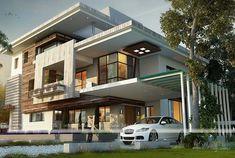 Modern house designs in nigeria latest bungalow house design in modern duplex house designs in nigeria Modern Bungalow House Design, Duplex House Design, Modern House Plans, Home Design, Bungalow Designs, Small Bungalow, Design Ideas, Bungalow Floor Plans, Ultra Modern Homes