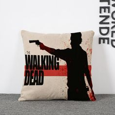 18 style Without the core The Walking Dead Nap Cushion Cars Home Lumbar Pad Pillow Hold Pillow with famous person Kids Toys
