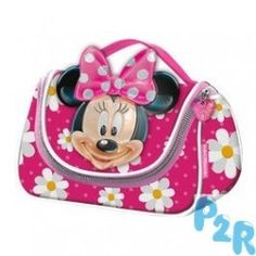 Saco De Toilet Minnie Disney Flowers