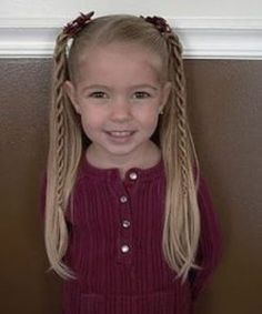 Cute Pigtails Braid Styles for Girls