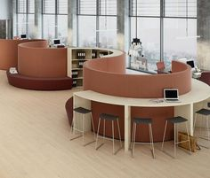 Space dividers-Pods-Enclosed spaces-Partitions-Space dividers-Swing-Holmris Office