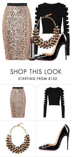 """""""Untitled #471"""" by rocksolana ❤ liked on Polyvore featuring French Connection, Cushnie Et Ochs, Etro and Christian Louboutin"""