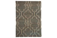 Look closely enough and you can see a multitude of earthy shades blending harmoniously in the Gillian accent rug, crafted with 100% natural jute. The interwoven Moroccan trellis pattern is beautifully on trend.