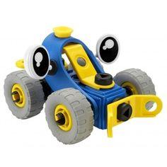 Build and play koffertje : blauw speelgoed van Meccano online kopen - speelgoed bestellen - speelgoedwinkel - Hooglede - West Vlaanderen - Roeselare - België