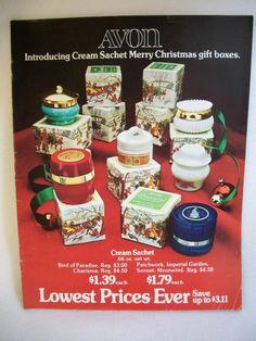 AVON 1974 VTG LARGE CHRISTMAS HOLIDAY CATALOG CAMPAIGN #21 FRAGRANCES JEWELRY +