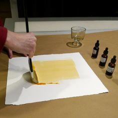 BRUSHING THE EMULSION Butcher Block Cutting Board, Plastic Cutting Board, Alternative Photography, Brushing, Prints, Brushes