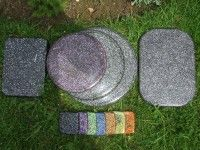 Orgone Coasters, Orgonite placemats and charging boards