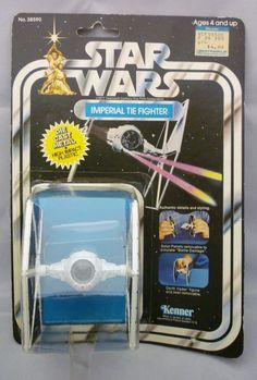 VINTAGE 1978 Kenner Star Wars Die Cast Imperial Tie Fighter 21 Back MOC RARE #Kenner @starwars