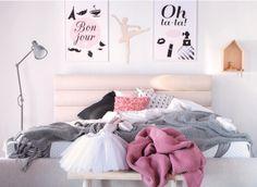 sypialnia dziecięca, pokój dziewczynki  http://abcsypialni.pl/blog/jak-urzadzic-sypialnie-dla-dziewczynki-zainspiruj-sie/