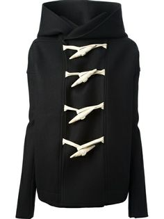 rick owens hooded toggle