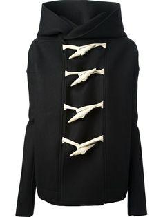 Rick Owens - с капюшоном переключения куртка 6