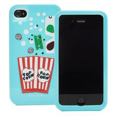 iPhone 4 case, kate spade. Debating about getting since my husband runs a movie theatre