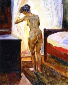 Edvard Munch, Morning (also known as Nude at the Window)