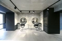 Необычный дизайн салона красоты Numero Uno