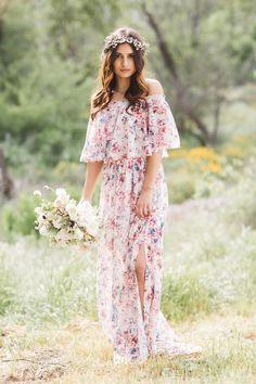 Show Me Your Mumu x GWS Hacienda Maxi Dress