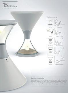 砂時計型ランプ
