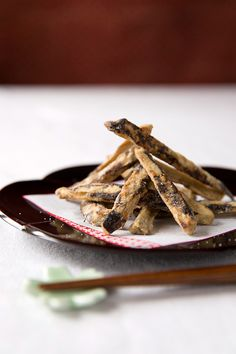 2 Recipes: Deep Fried Gobo Root / Soy Sauce Caramelized Gobo|ごぼう揚げ