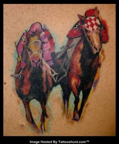 Thoroughbred racehorse horse art ballpointpen drawing ink for Thoroughbred tattoo lookup