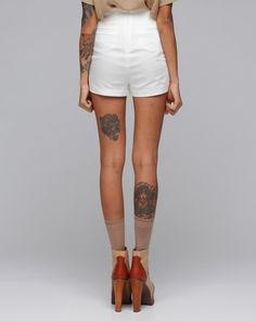 Love the placement of the one on the calf. I'm getting a tattoo with my sister...think that's where I'll get it.