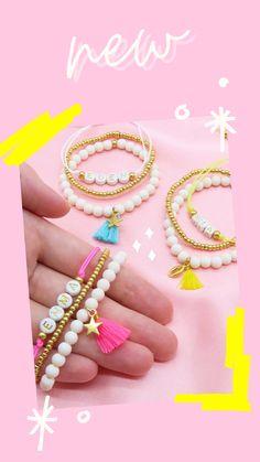 Wedding Jewelry, Diy Jewelry, Beaded Jewelry, Beaded Bracelets, Pearl Bracelet, Bracelet Set, Bracelet Making, Unique Bracelets, Handmade Bracelets