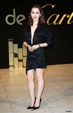 Panthere De Cartier Party (May - 047 - Miss Lily Collins - Gallery 2dac173bf