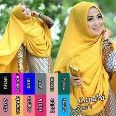 obral Hijab/Jilbab Khimar Syari Landra terbaik