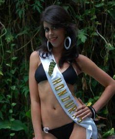 Johanna Solorzano Miss Danli Belleza Nacional 2007, Miss Teen Honduras 2008 y representante de Honduras en el Reinado Mundial del Banano 2008.