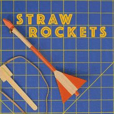 How to make slingshot rockets from a straw : educationalgifs