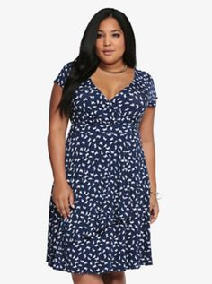Butterfly Faux Wrap Dress. I just got this dress in a size 1 and it fits perfectly and looks amazing!!