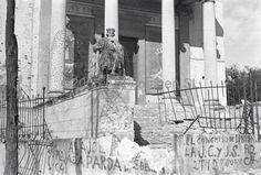 Bombardeo del Museo Arqueológico, Madrid. 1937