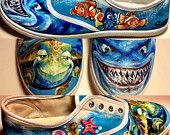 Custom Hand Painted Shoes Made to Order