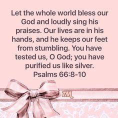Psalm 66:8-10