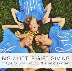 Big / Little Gift Giving: Tips to Spoil Your Little on a Budget   Bows, Pearls & Sorority Girls