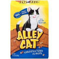 Alley Cat Chicken & Tuna Flavored Alley Cat Cat Food