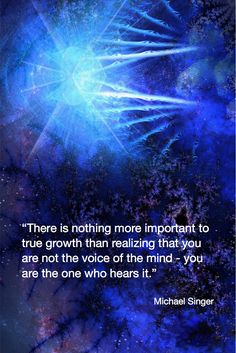 "Michael Singer Quote ""There is nothing more important to true growth…"" - spirituality Awakening Quotes, Spiritual Awakening, Spiritual Wisdom, Spiritual Growth, Spiritual Quotes Universe, Spiritual Love Quotes, Oprah Winfrey, Untethered Soul, True Quotes"