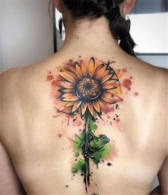 40+ Sunflowers Tattoos Design Ideas for Women - chic better