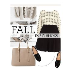 Fall in my shoes by merima-kopic on Polyvore featuring moda, Lanvin and MANGO