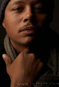Terence Howard. His eyes. Wow.